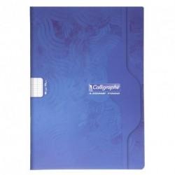 Cahier format A4 21x29,7 48p grands carreaux (séyès) Calligraphe