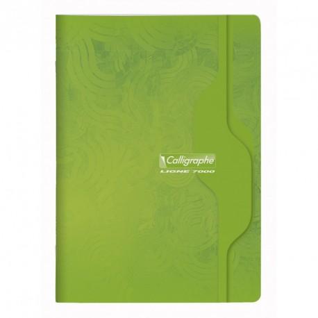 Cahier format A4 21x29,7 96p grands carreaux (séyès) Calligraphe