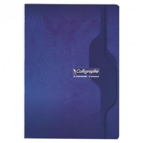 Cahier format A4 21x29,7 96p petits carreaux (5x5) Calligraphe
