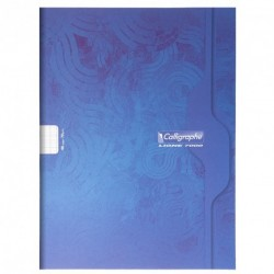 Cahier grand format 24x32 48p grands carreaux (séyès) Calligraphe