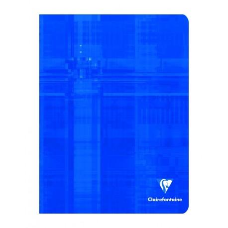 Cahier petit format 17x22 96p petits carreaux (5x5) Clairefontaine