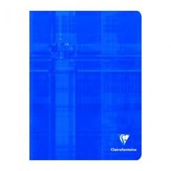 Cahier petit format 17x22 96p grands carreaux (séyès) Clairefontaine