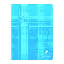 Cahier petit format 17x22 48p grands carreaux (séyès) Clairefontaine