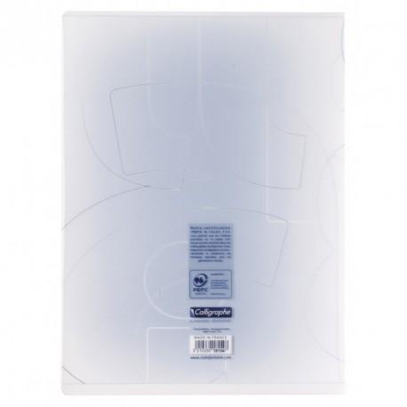 Cahier de dessin couverture plastique Calligraphe 24x32 48 pages 120g