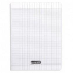 Cahier polypro Calligraphe format A4 21x29,7 192p grands carreaux (séyès) - incolore