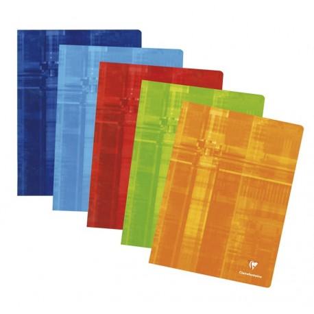 Cahier A4 21x29,7 48p grands carreaux (séyès) Clairefontaine