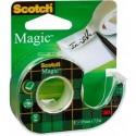 Ruban adhésif invisible Scotch Magic 19mm x 33m avec dévidoir