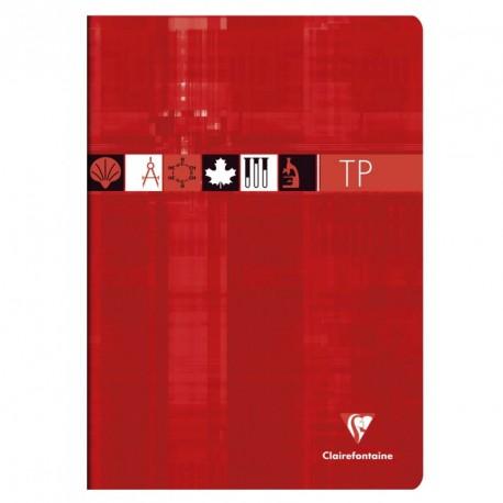 Cahier de Travaux pratiques A4 21x29,7 80p séyès/uni Clairefontaine