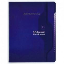 Répertoire petit format 17x22 96p petits carreaux (5x5)