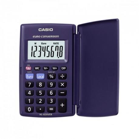 Calculatrice de poche Casio 8 chiffres HL820VER