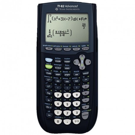 Calculatrice graphique Texas Instrument TI-82 Advanced