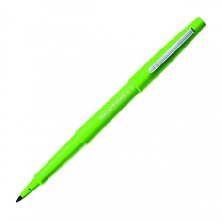 Stylo feutre PaperMate Flair pointe moyenne nylon - Vert pomme