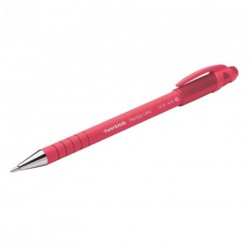 Stylo bille PaperMate Flexgrip Ultra Refresh rétractable - Rouge