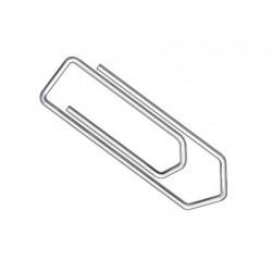 Trombone 32mm en acier galvanisé - boîte de 100