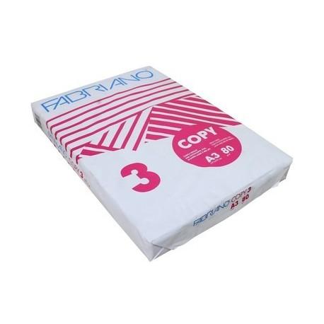 Ramette papier 80gr blanc 1er prix format A3 29,7x42 - paquet de 500