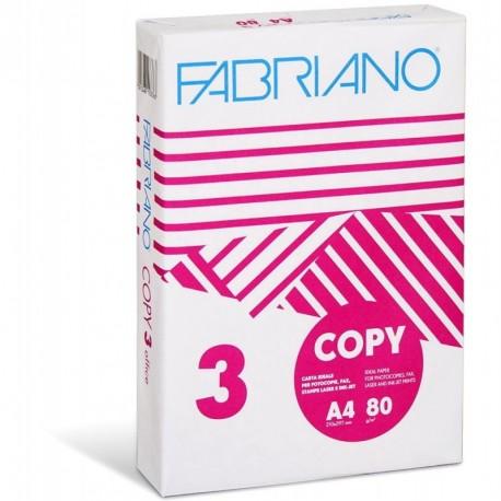 Ramette papier 80gr blanc format A4 21x29,7- paquet de 500