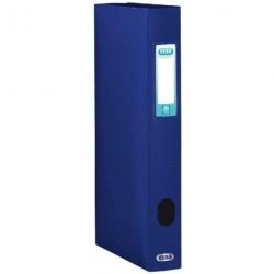 Boite de classement plastique Menphis dos de 4cm - Bleu