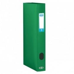 Boite de classement plastique Menphis dos de 4cm - vert