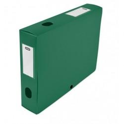 Boite de classement plastique Menphis dos de 6cm - vert