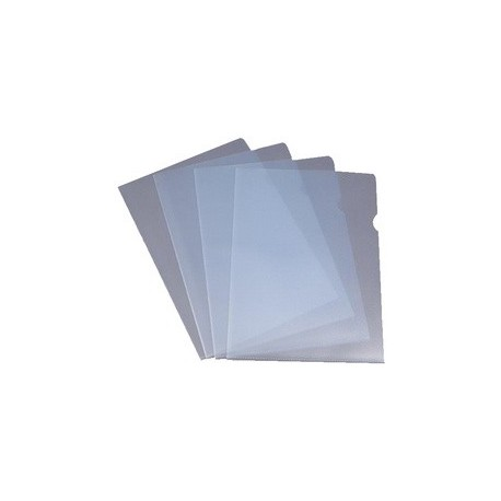 Pochettes coin cristal format A4 (21x29,7) - lot de 100
