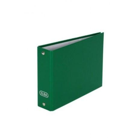 Classeur à fiches 2 anneaux format 105x148mm - assortis