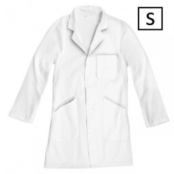 Blouse blanche 100% coton - Taille S