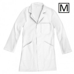 Blouse blanche 100% coton - Taille M
