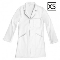 Blouse blanche 100% coton - Taille XS